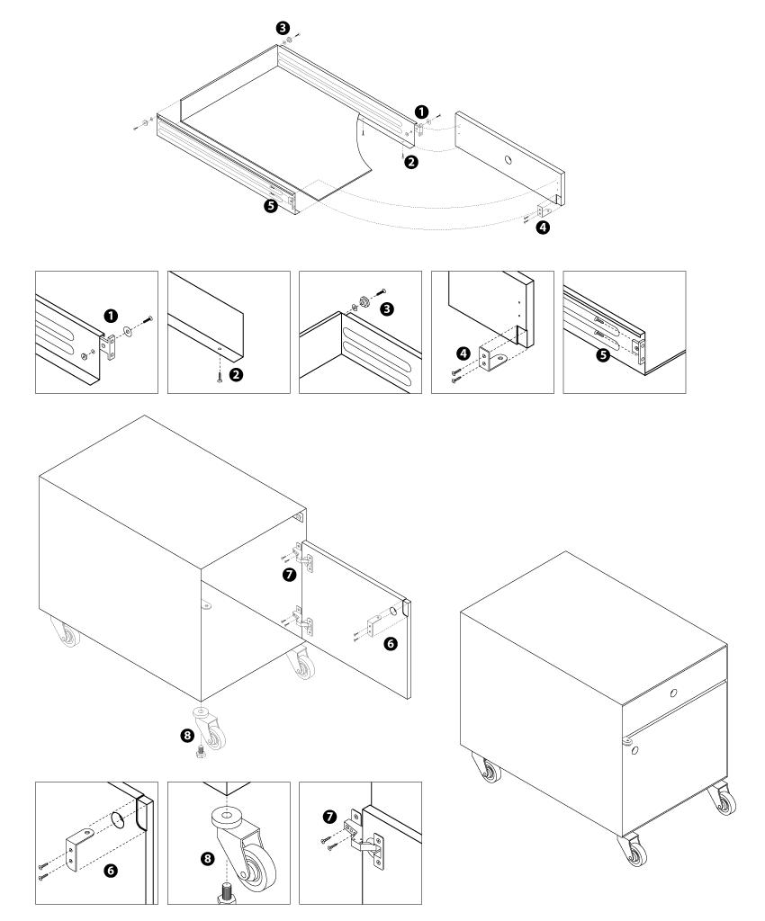 Simple tekniske tegninger giver klare og entydige vejledninger til